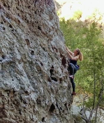 climbing in malibu creek