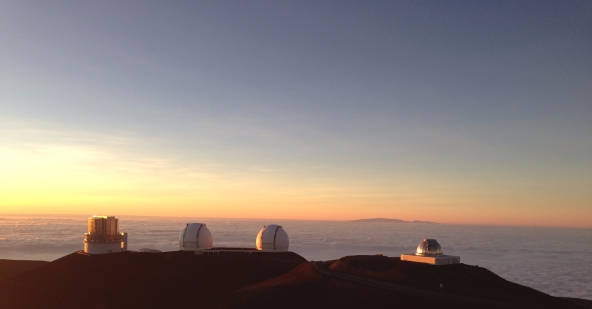 Mauna Kea at Sunset