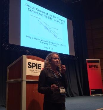 Poster pops presentation at SPIE 2016