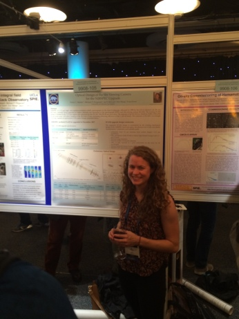 My poster at the SPIE Astronomical Telescopes and Instrumentation